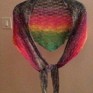 rainbow wrap
