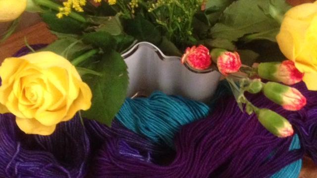 Self-medicating with yarn…