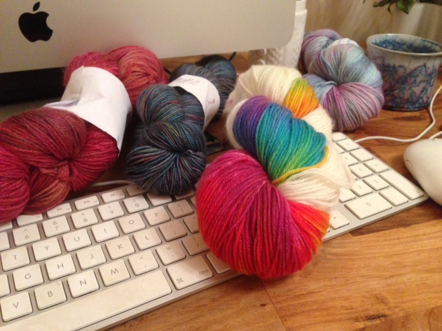 Tired, but not of yarn…