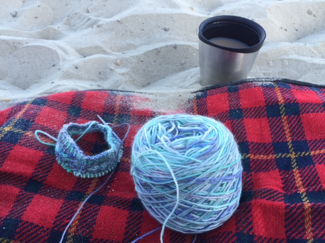 Hot Beverages and Sandy Balls…