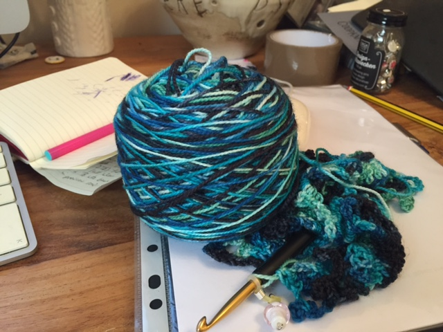 Sketching with Yarn…